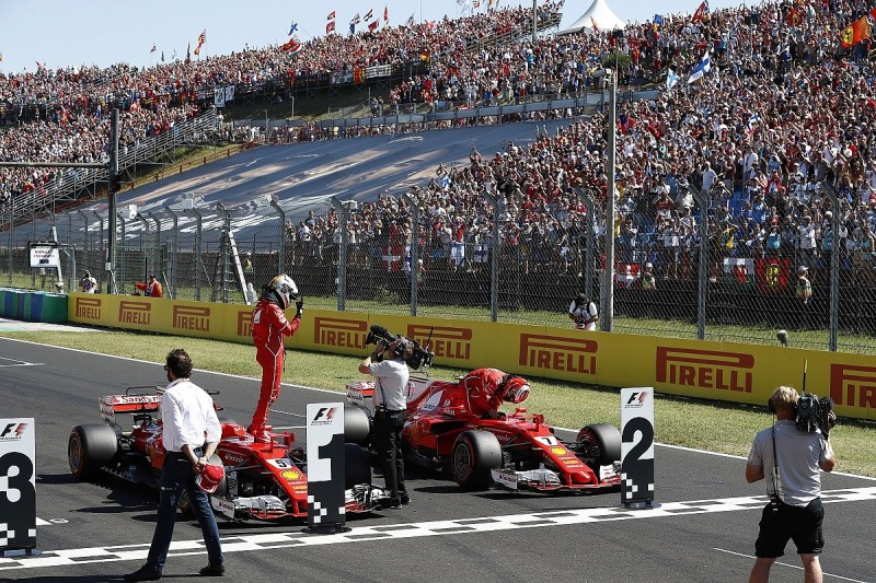 Chase Carey says Formula 1's TV options have 'conflicting goals'