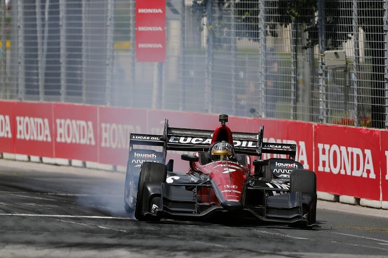 Sebastian Saavedra to replace Mikhail Aleshin for next two IndyCar races