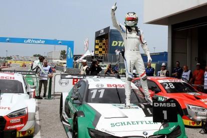 Misano DTM: BMW's Wittmann takes sensational win from last on grid