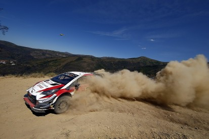 WRC Portugal: Toyota's Ott Tanak one stage away from victory