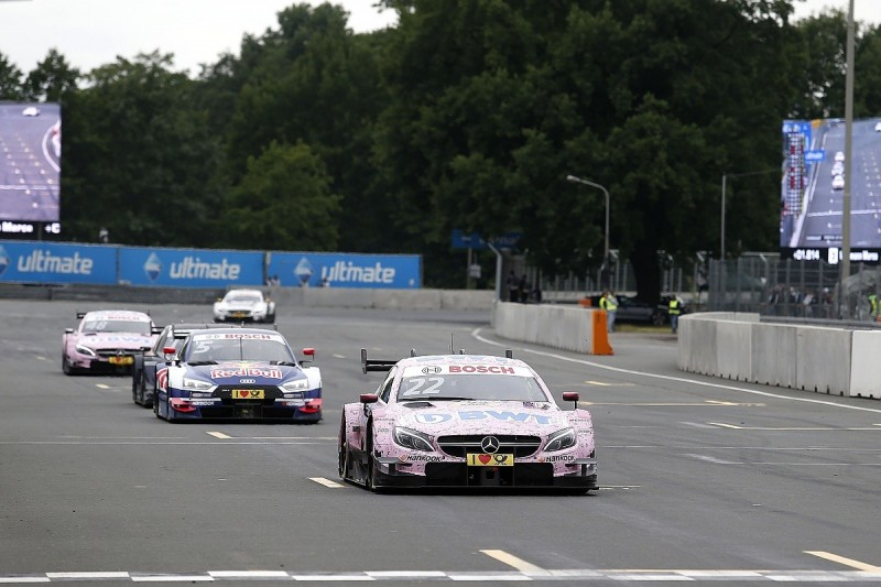 Mercedes' Auer needs 'automatic' improvements in DTM title fight