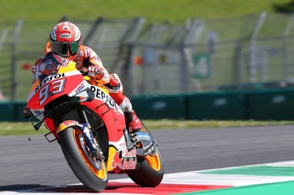 Marc Marquez hampered by fever in Mugello MotoGP practice