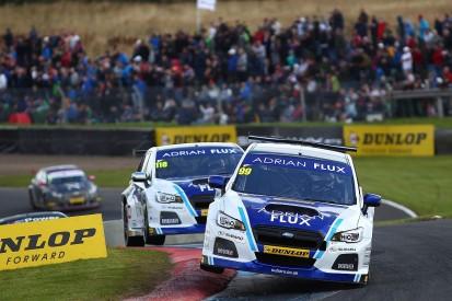 Knockhill BTCC: Jason Plato beats fellow Subaru driver Ash Sutton