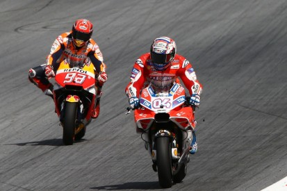 Dovizioso critical of Marquez's late lunge in Austria MotoGP race