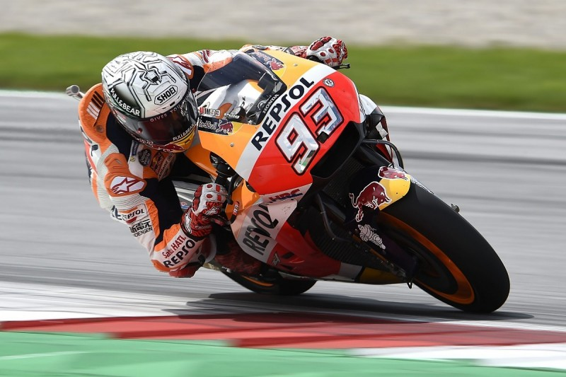 MotoGP Red Bull Ring: Honda's Marquez hits the front in FP3