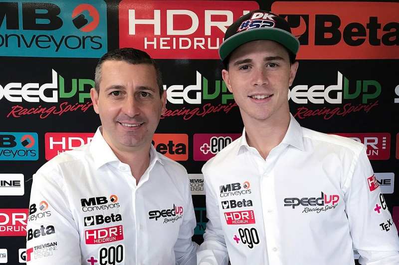 Danny Kent gets full-time Speed Up deal for 2018/19 Moto2 seasons