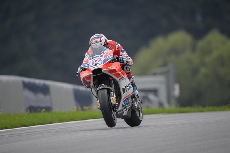 MotoGP Red Bull Ring: Ducati's Dovizioso goes fastest in FP2
