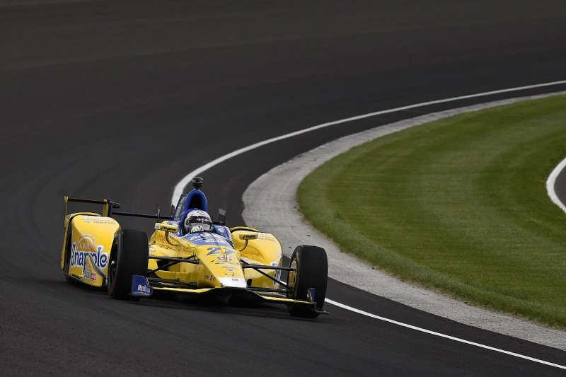 Marco Andretti leads first day of 2016 Indianapolis 500 practice