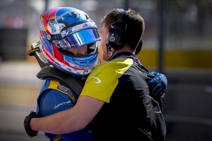 GP3 Barcelona: Jake Huges on pole as DAMS locks out front row
