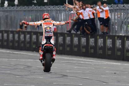 Marc Marquez's wet tyre error key to dominant MotoGP Brno win