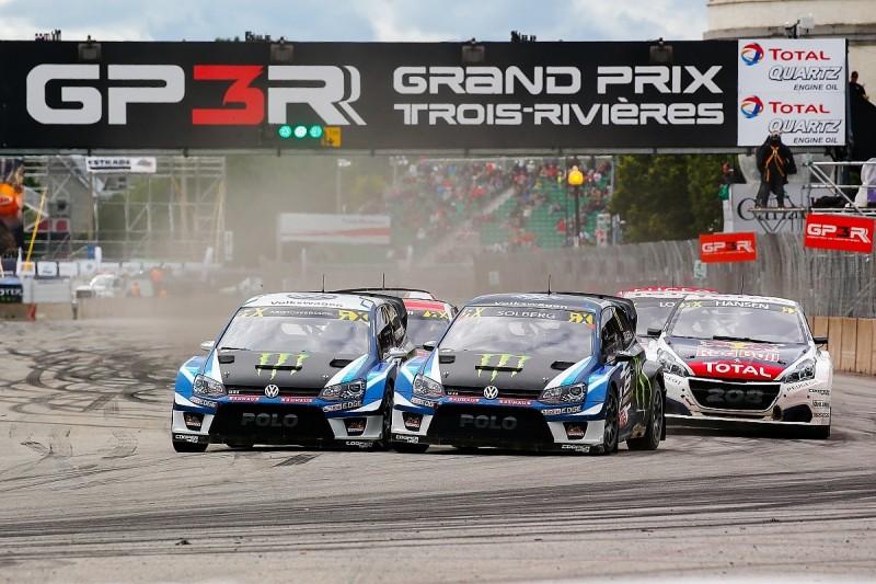 Trois-Rivieres World Rallycross: Third straight Kristoffersson win