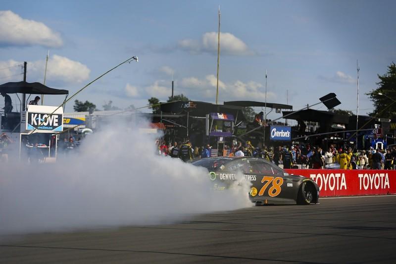 NASCAR Watkins Glen: Martin Truex Jr hangs on to claim victory
