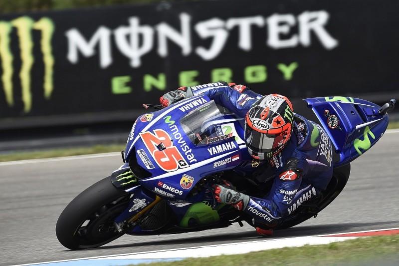 Maverick Vinales baffled as Yamaha struggles on Brno MotoGP Friday