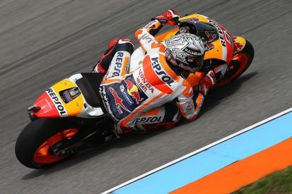 MotoGP Brno: Marc Marquez fastest in crash-strewn FP3 session