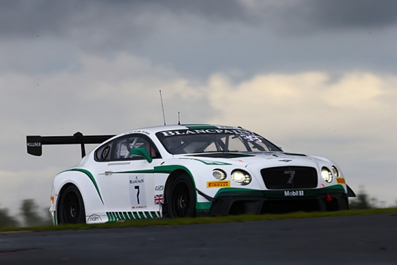Abril replaces Meyrick in works Blancpain Endurance Series Bentley