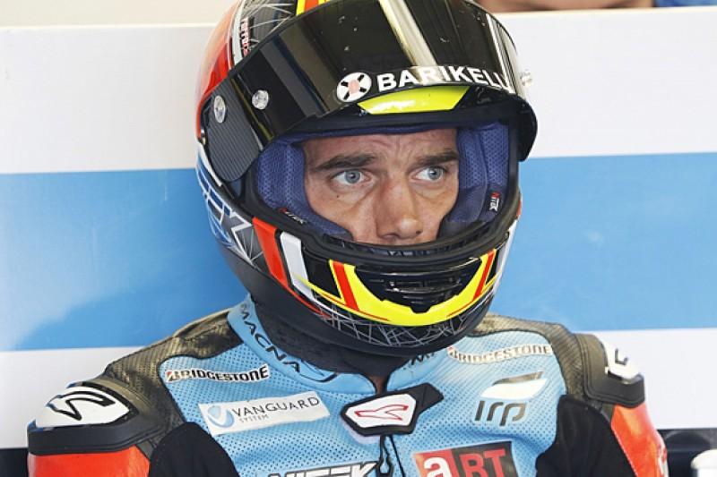 Injured Alex de Angelis to return to MotoGP paddock at Valencia