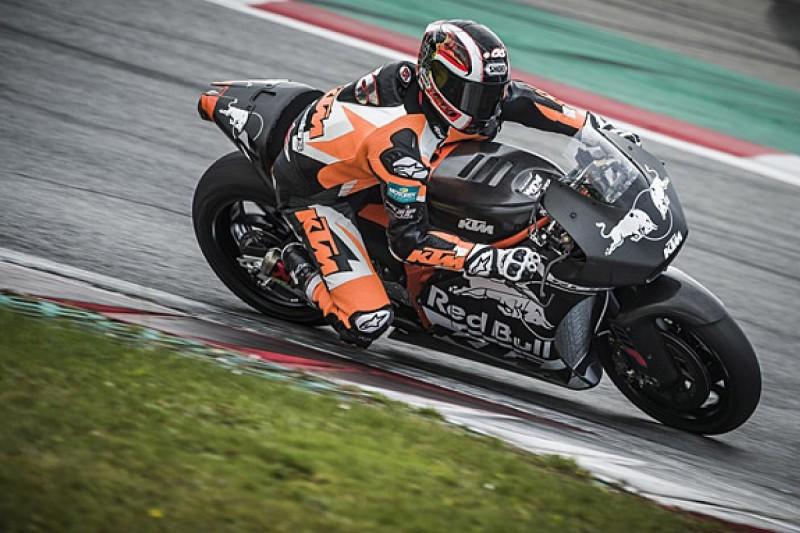 KTM RC16 turns first laps ahead of 2017 MotoGP return