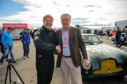 EU chief Brexit coordinator races Aston at Silverstone Classic