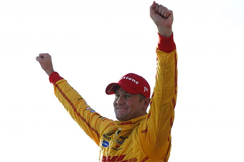 IndyCar star Ryan Hunter-Reay joins Race of Champions 2015 line-up