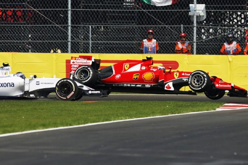 Bottas lucky in Raikkonen Mexican GP clash, Williams's Smedley says