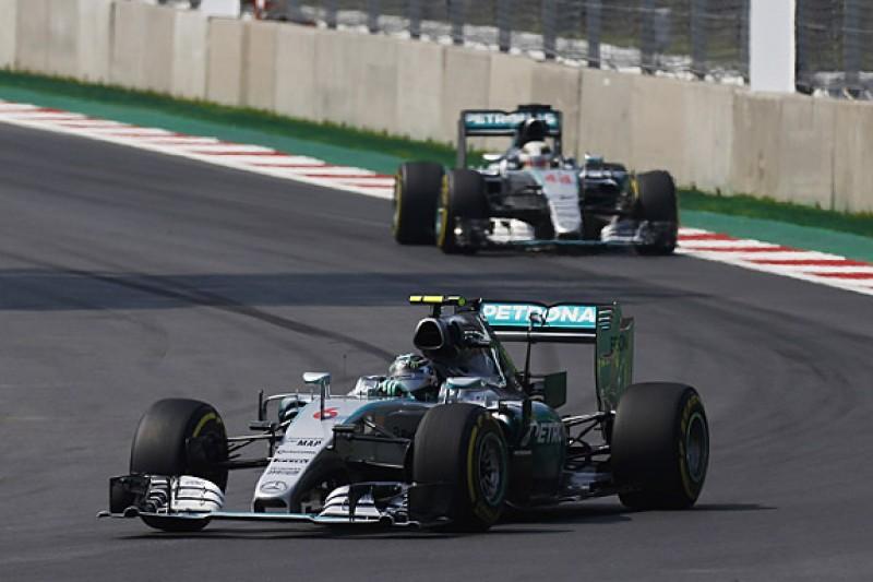 Nico Rosberg beats Lewis Hamilton to win F1 Mexican GP