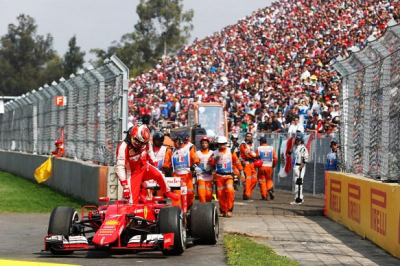 Mexican GP: Raikkonen says he gave Bottas room in crash