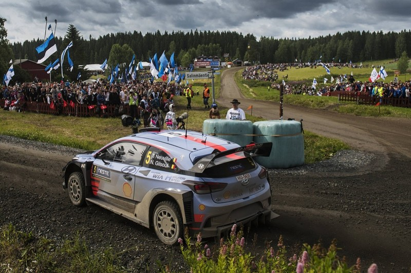 New WRC leader Neuville defends 'clever' drive to sixth in Finland