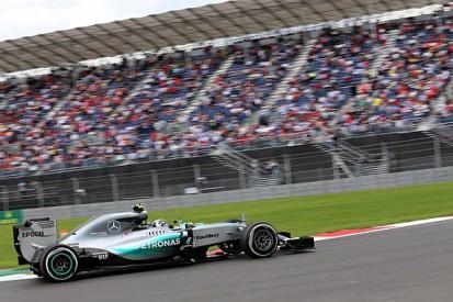 Nico Rosberg edges Lewis Hamilton in F1 Mexican GP final practice