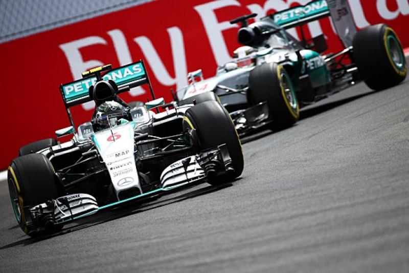 Mexican GP: Nico Rosberg beats F1 team-mate Lewis Hamilton to pole