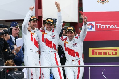 Sainteloc Racing Audi comes from a lap down to win Spa 24 Hours