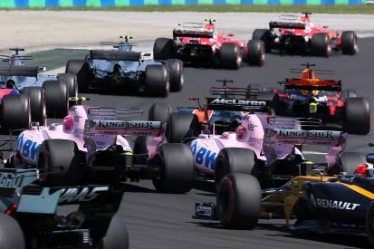 Esteban Ocon suffered damage after clash with F1 team-mate Perez
