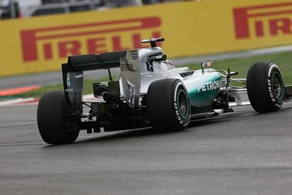 Mexico City F1 track's low grip level 'crazy' says Lewis Hamilton