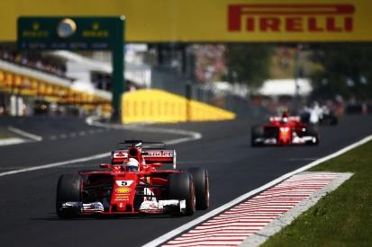 Sebastian Vettel: Kimi Raikkonen was 'a lot faster' in Hungarian GP