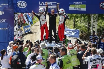 WRC rookie Esapekka Lappi wins Rally Finland for Toyota