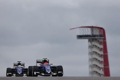 Sauber F1 team-mates Nasr, Ericsson clear air after US GP collision