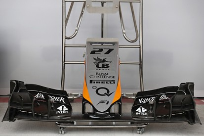 Force India F1 team brings new aero package for Mexican GP