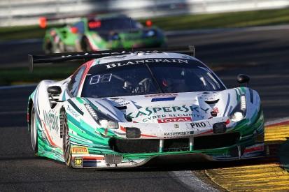 Spa 24 Hours: AF Corse Ferrari leads at one-quarter distance