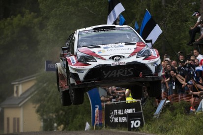 Esapekka Lappi stays clear of battle for second on Rally Finland