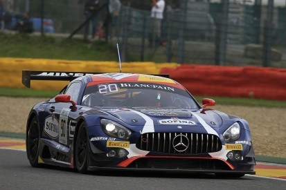 Mercedes in the lead at Spa 24 Hours after three-quarter distance