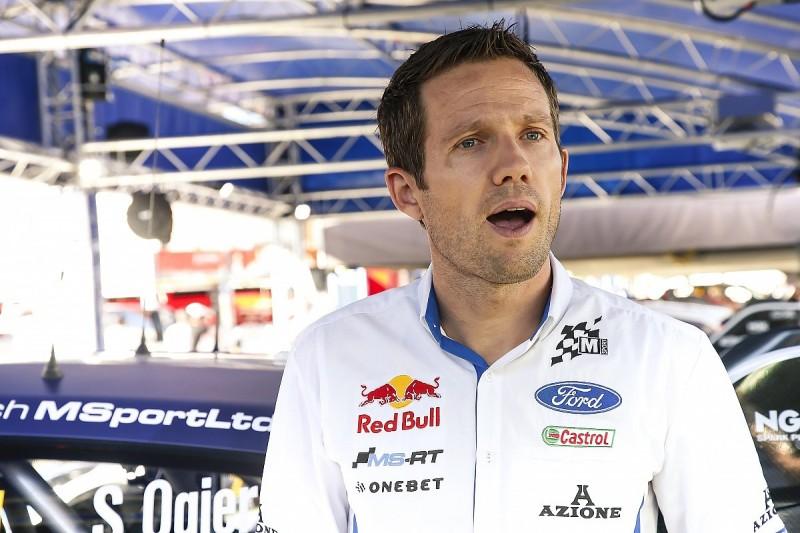 Sebastien Ogier can't enter final day of Rally Finland