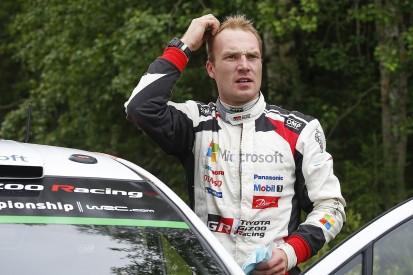 Rally Finland: Toyota's Jari-Matti Latvala retires from the lead