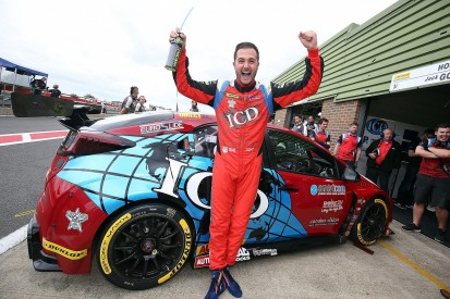 Snetterton BTCC: Jack Goff takes maiden category pole position