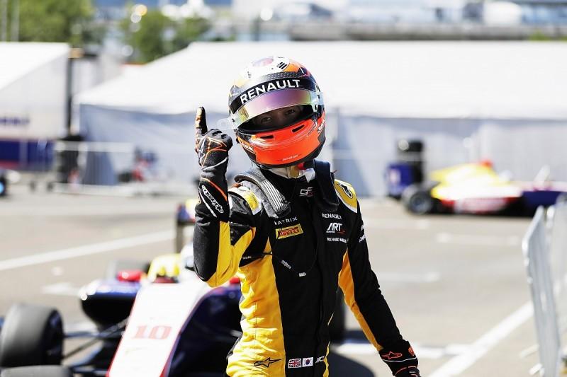 Hungary GP3: Renault junior Jack Aitken takes pole as ART dominate