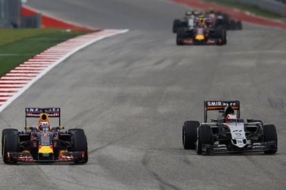 Wing damage caused Hulkenberg/Ricciardo US GP F1 clash