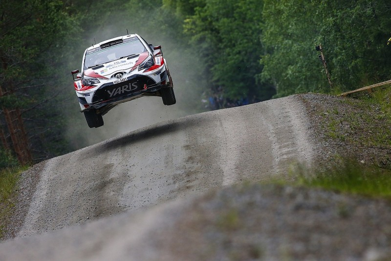 Rally Finland: Toyota in control as Latvala grabs lead from Lappi