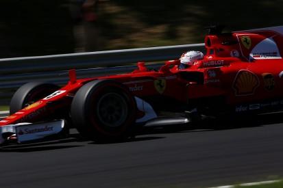 Hungarian GP: Sebastian Vettel leads Ferrari one-two in practice
