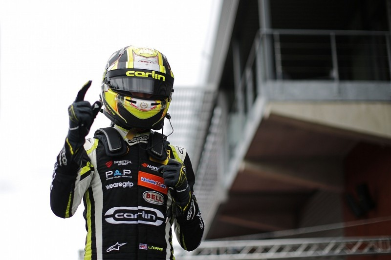 Spa European F3: Norris wins race three as Gunther crashes out