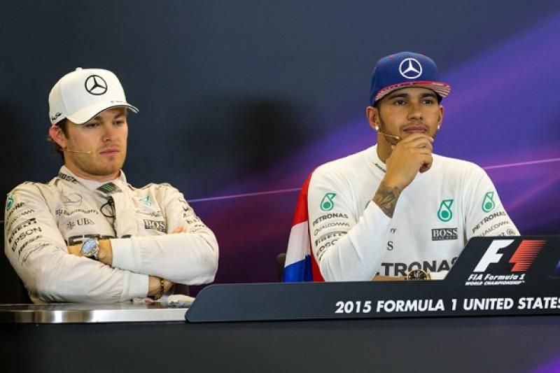 Mercedes' Rosberg to seek talks with Hamilton after F1 US GP clash
