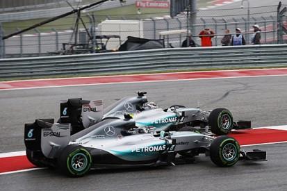 Nico Rosberg says Lewis Hamilton went too far in US GP start clash