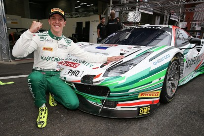 Ferrari factory driver Calado takes pole for Spa 24 Hours in 488 GT3
